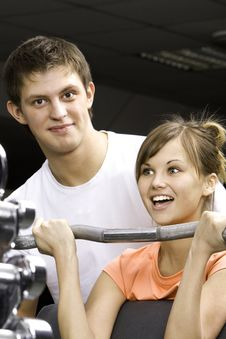 Free Fitness Club Stock Photo - 18175040