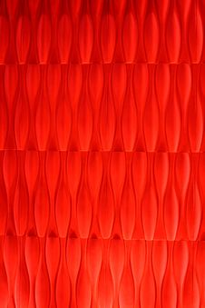 Free Vivid Vermilion Velvet Wallpaper Abstract Design Royalty Free Stock Photography - 18175697