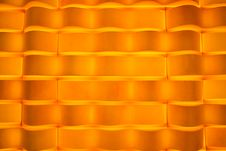 Vivid Orange Velvet Wallpaper Abstract Design Stock Photos