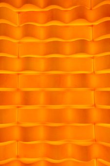 Vivid Orange Velvet Wallpaper Abstract Design Stock Images
