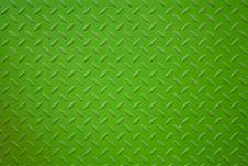 Free Vivid Green Metal Plank Surface Royalty Free Stock Image - 18175836