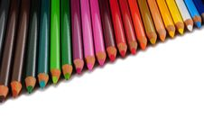 Free Color Pencils. Stock Image - 18175901