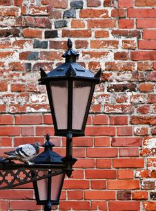 Free Lamp-street In The Old City Royalty Free Stock Images - 18175989