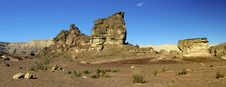 Free Panoramic View On Canyon Of Timna Park, Israel Stock Photography - 18176032