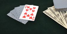 Free Poker Cards Royalty Free Stock Image - 18176046