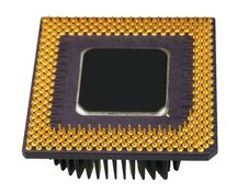 Free The Old Processor Stock Photography - 18176052