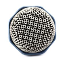 Free Microphone Bud Close-up Isolated Royalty Free Stock Photos - 18176158