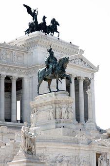 Free Vittorio Emanuele In Rome, Italy Stock Image - 18177211