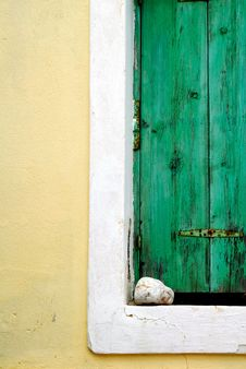 Free Green Window Stock Image - 18177391