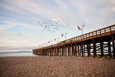 Ventura Pier Stock Photography