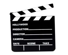 Free Clapperboard Motion Picture Production Stock Photography - 18177702