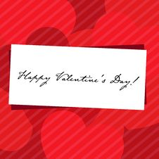 Free Happy Valentines Day Stock Photography - 18177782
