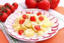 Free Potato Salad Royalty Free Stock Photos - 18178208
