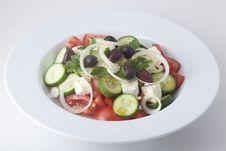 Free Greek Salad Royalty Free Stock Photo - 18178255