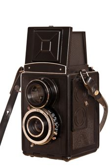 Free Vintage Russian Camera Lubitel2 Stock Photography - 18178332