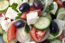 Free Greek Salad Royalty Free Stock Photos - 18178358