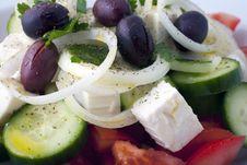 Free Greek Salad Stock Images - 18178364