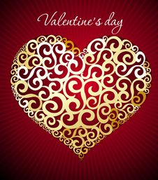 Free Valentine S Day Heart Royalty Free Stock Image - 18178446