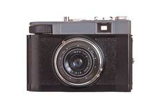 Vintage Russian Camera Smena6 Royalty Free Stock Photography