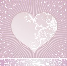 Free Valentine S Day Illustration With Heart Stock Images - 18178554