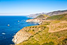 Free Big Sur Royalty Free Stock Image - 18178626