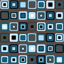 Free Vector Pattern Of Squares Royalty Free Stock Images - 18178749