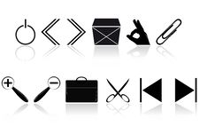 Free Computer Icons Royalty Free Stock Photo - 18178795