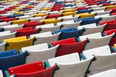Free Stadium Seats Stock Photography - 18179192