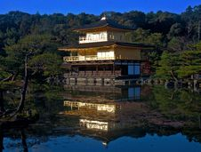 Free Golden Pavilion Stock Image - 18179391