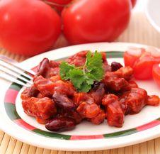 Free Chili Con Carne Stock Photo - 18179720
