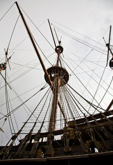 Free Detail Of Neptune Galleon Royalty Free Stock Photos - 18179738
