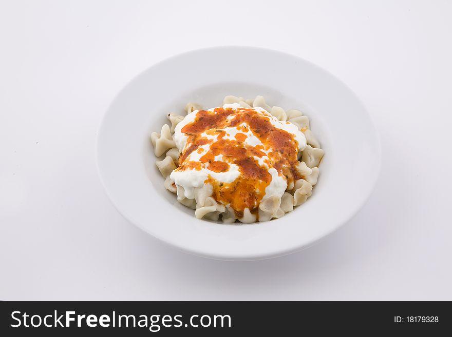 Syrup spaghetti