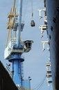 Free Shipyard Crane At Work Royalty Free Stock Images - 18180179