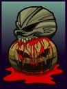 Free Halloween Skull Royalty Free Stock Photography - 18180387