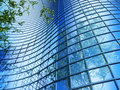 Free Office Building On A Background Of The Blue Sky Stock Images - 18187334
