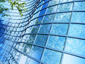 Free Office Building On A Background Of The Blue Sky Royalty Free Stock Photography - 18187397
