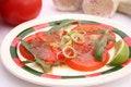 Free Fresh Salad Of Tomatoes Royalty Free Stock Image - 18187486
