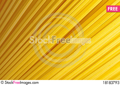 Free A Bunch Of Spaghetti, Uncooked Spaghetti Noodles Stock Photos - 18183793