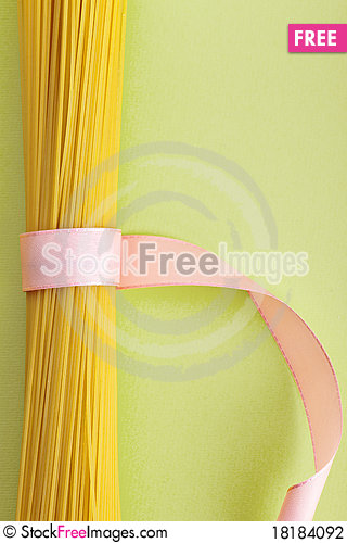 Free A Bunch Of Spaghetti, Uncooked Spaghetti Noodles Stock Photography - 18184092