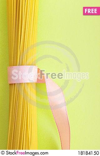 Free A Bunch Of Spaghetti, Uncooked Spaghetti Noodles Stock Photo - 18184150