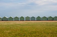 Free Brighton Beach Huts Stock Image - 18180411