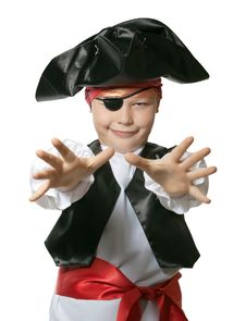 Free Little  Pirate Royalty Free Stock Photos - 18180958