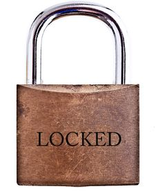 Free Padlock - Isolated Stock Images - 18182544
