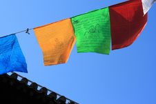 Free Prayer Flags Stock Photos - 18182923