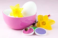 Free Easter Eggs And Colors Royalty Free Stock Photos - 18182948