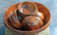 Free Wooden Bowls Stock Photos - 18183523