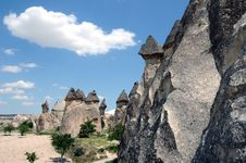 Free Fairy Chimneys Royalty Free Stock Image - 18183646