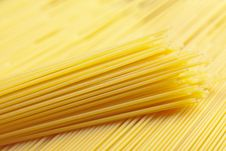 Free A Bunch Of Spaghetti, Uncooked Spaghetti Noodles Royalty Free Stock Photos - 18183858