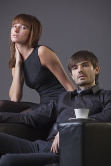 Couple Portrait Royalty Free Stock Images