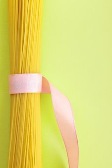 Free A Bunch Of Spaghetti, Uncooked Spaghetti Noodles Stock Photo - 18184150